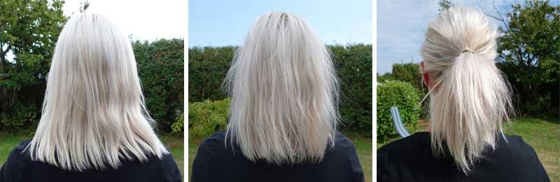 Volumen i fint hår