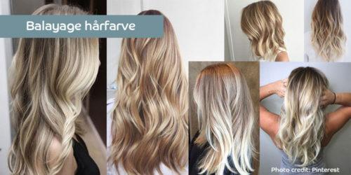 Balayage hår – en smuk og naturlig farvemetode