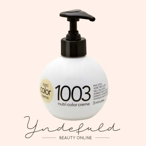 Nutri Color Creme 1003 Pale Gold farvebombe