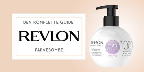 Farvebombe → Sådan bruger du Revlon Nutri Color Creme
