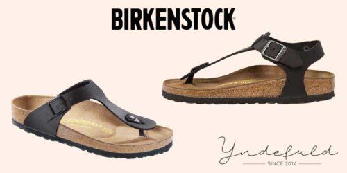 Birkenstock guide – Sådan vælger du den rigtige sandal