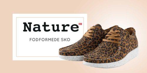 Nature footwear – Smukke fodformede sko til kvinder