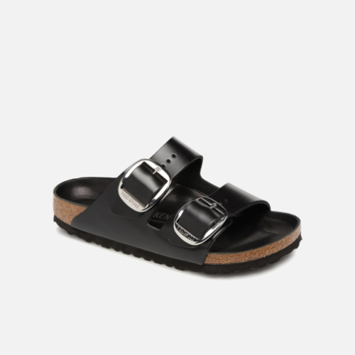 Arizona Big Buckle Cuir by Birkenstock