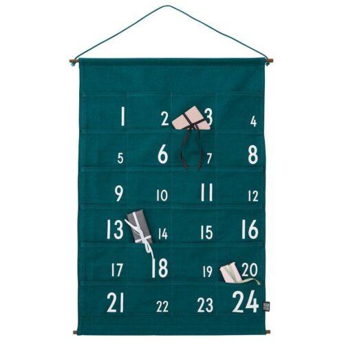 Design Letters - Christmas calendar - Green - Onesize Green